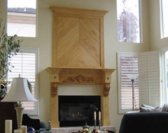 Custom Fireplace Mantels and Surrounds