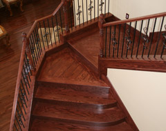 Custom Solid Wood Stair Tre Las Vegas Nevada